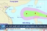 Áp thấp nhiệt đới lại xuất hiện, có thể mạnh lên thành bão