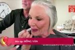 Trang điểm suốt 50 năm, cụ bà lần đầu công khai mặt mộc ở tuổi 73