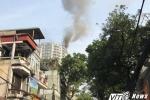 Cháy chung cư Golden Westlake 162A Hoàng Hoa Thám, Hà Nội