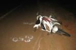 Tông người đi bộ, thiếu niên ngã xuống đường bị ôtô cán chết