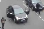 Video: Các tay súng tẩu thoát sau khi tấn công tạp chí Pháp