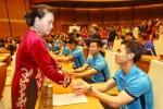 Chủ tịch QH Nguyễn Thị Kim Ngân: 'Các cầu thủ U23 làm rung động triệu trái tim người Việt'