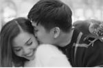 Tô Minh Đức và Nguyễn Ngọc Anh hôn nhau say đắm như tình nhân