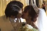 Kelvin Khánh hôn Khởi My đắm đuối trong tiệc cưới
