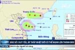 Áp thấp nhiệt đới hoành hành trên Biển Đông, nguy cơ mạnh lên thành bão số 4
