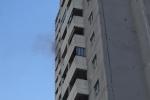 Video: Đang cháy chung cư Fodacon - Hà Đông