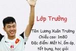 Lớp học trong mơ với dàn cầu thủ điển trai U23 Việt Nam