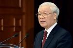 Tổng Bí thư, Chủ tịch nước Nguyễn Phú Trọng chúc mừng báo Tiền Phong nhân 65 năm số đầu tiên