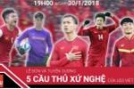 Trực tiếp: Xứ Nghệ đón 5 tuyển thủ U23 Việt Nam trở về