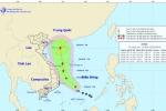 Áp thấp nhiệt đới đang mạnh lên thành bão, tiến sâu vào Biển Đông