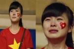 Giọng hát của nữ CĐV xinh đẹp khóc vì U19 Việt Nam