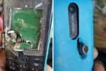 Điện thoại 'cục gạch' Nokia chống đạn cứu mạng người dùng