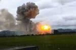 Tin mới nhất về vụ nổ kho pháo hoa tại Phú Thọ