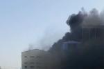 Video: Cháy nhà máy nhiệt điện Thái Bình 2, khói đen cuồn cuộn ngút trời