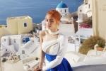 Ngắm thiên đường Santorini siêu đẹp trong MV mới của Hương Giang Idol