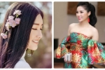 Hoa hậu Kỳ Duyên kém gợi cảm, Hoa khôi Huế tinh khôi với áo dài