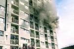 Chung cư I-Home TP.HCM bốc cháy, chuông báo cháy không hoạt động