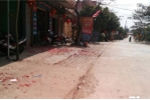 Xác pháo vương vãi trên nhiều tuyến đường ở Hải Phòng, Bắc Giang sáng mùng 1 Tết Kỷ Hợi