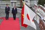 Lễ đón chính thức Thủ tướng Nguyễn Xuân Phúc tại Nhật Bản