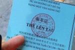 Chữ Trung Quốc in trên thẻ đi thử tàu Cát Linh – Hà Đông: Ban quản lý dự án đường sắt lý giải