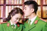 Ngắm ảnh cưới giản dị của cặp đôi chiến sĩ công an trẻ Hà Tĩnh