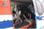 Điều trực thăng ra Trường Sa cấp cứu ngư dân bị xuất huyết não