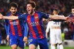 Kết quả bốc thăm tứ kết Cup C1 2017: Kinh điển Bayern vs Real, Juventus vs Barca