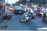 Ô tô điên gây tai nạn liên hoàn ở TP.HCM, nhiều người bị thương