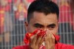 'Việt Nam ơi, hơn 90 triệu con tim đã rơi ra khỏi lồng ngực'