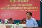 Ông Trịnh Xuân Thanh vắng mặt tại buổi công bố quyết định khai trừ Đảng
