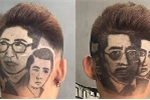 Độc đáo chàng trai có biệt tài khắc họa chân dung nhân vật lên tóc