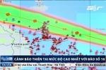 Tin bão số 10: Cảnh báo sức tàn phá của cơn bão mạnh nhất thập kỷ