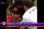 Clip: Cứu sống 2 em nhỏ bị lũ cuốn trôi ở Hà Tĩnh
