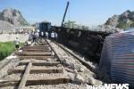 Chính thức thông tuyến đường sắt qua Thanh Hóa sau tai nạn thảm khốc