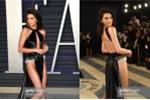Siêu mẫu Kendall Jenner mặc hở gây sốc ở tiệc hậu Oscar 2019
