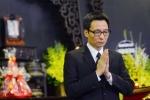 Phó thủ tướng Vũ Đức Đam tới viếng nghệ sĩ Phạm Bằng