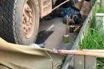 Hiện trường xe tải đi ngược chiều cố tình lấn làn, đâm chết 2 người ở Bắc Giang