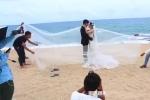 Sự thật sau những tấm ảnh cưới lung linh khiến người xem 'ngã ngửa'
