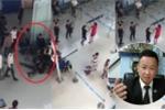 Côn đồ tát, đạp ngã nữ nhân viên ở sân bay: Có thể xử lý hình sự tội gây rối trật tự công cộng?