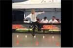 Clip bé gái trượt băng điêu luyện hút trăm triệu lượt xem trên Facebook