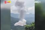 Clip: Nổ lớn ở kho vũ khí tang vật tại Hà Giang