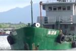 Cảnh sát biển bắt giữ tàu Hà Lộc 06 vận chuyển hơn 800 nghìn lít xăng dầu không phép