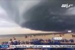 Đám mây khổng lồ đen kịt trên biển Sầm Sơn: Chuyên gia lý giải
