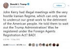 Tong thong Trump cao buoc cuu Ngoai truong My co cuoc gap bat hop phap voi chinh quyen Iran hinh anh 1