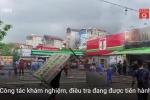 Clip: Cháy quán bia gần hồ Linh Đàm, 1 phụ nữ thiệt mạng