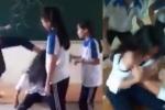 Đình chỉ học nhóm nữ sinh Hà Nội đánh hội đồng bạn cùng trường