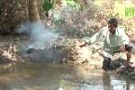 Bí ẩn hồ nước tự sôi trăm tuổi ở Vĩnh Long