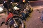 Xe máy kẹp 3 đi ngược chiều bị ô tô tông trúng, 3 người thương vong ở Quảng Ninh