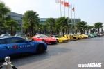 Ảnh: Ngắm hàng chục siêu xe đình đám đổ bộ Hà Nội