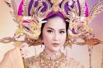 Trang phục dân tộc của Khánh Ngân lấy cảm hứng từ vẻ đẹp Nam Phương Hoàng hậu